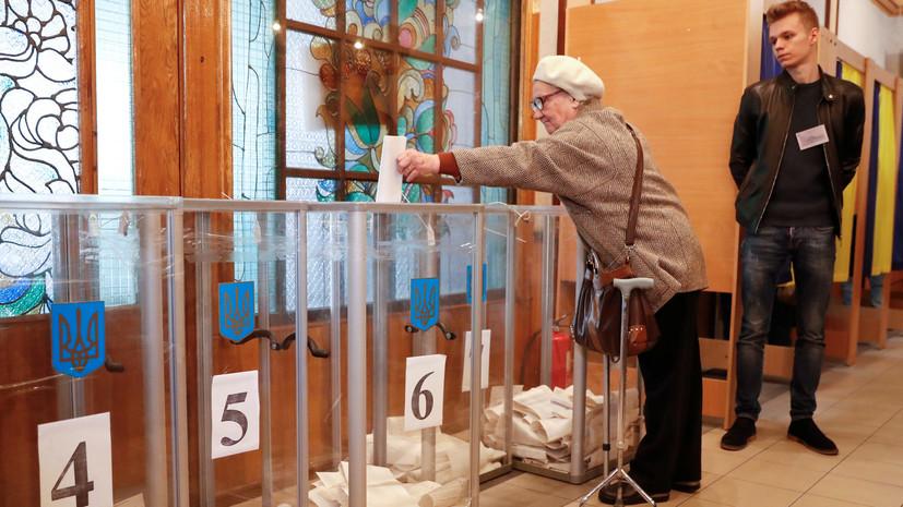 В МВД Украины рассказали о числе нарушений в день выборов президента
