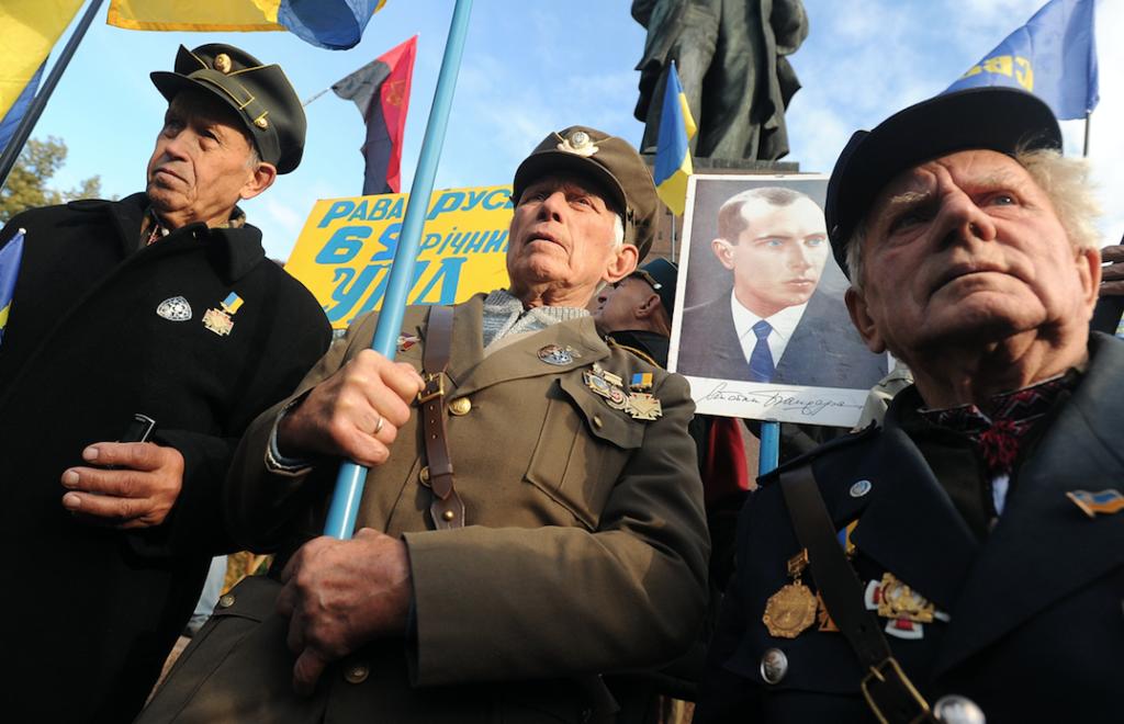 На Украине вступил в силу закон, приравнявший бандеровцев к ветеранам войны