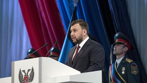"""Глава ДНР заявил, что Донбасс идет к """"полноправному членству"""" в России"""