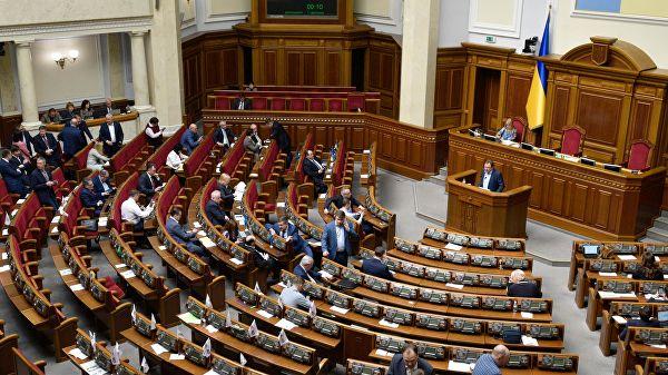 """Украинские депутаты поспорили из-за """"мовы"""" и """"свинячьего языка"""""""