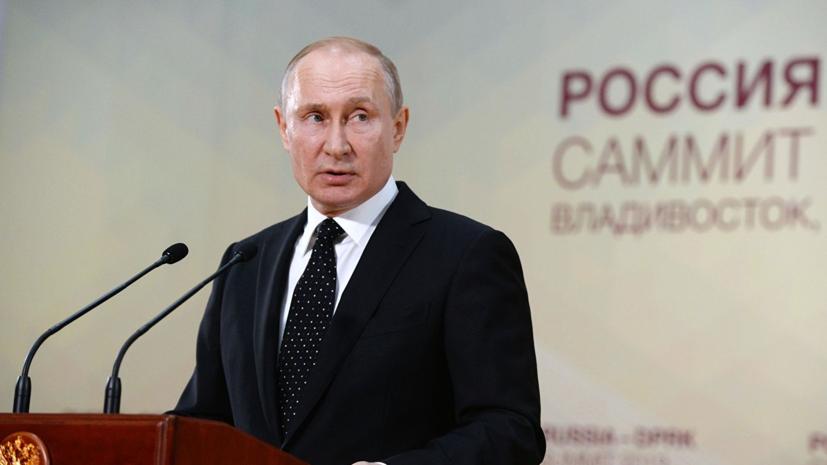 Полный провал: Путин кратко прокомментировал выборы на Украине