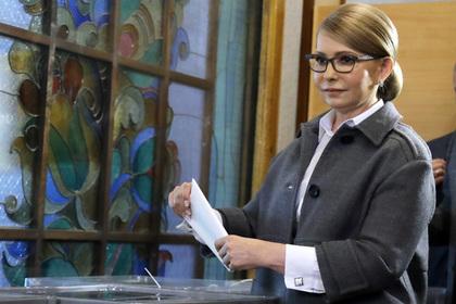 ЦИК Украины лишил Тимошенко права на второй тур выборов