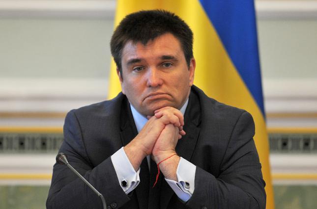 Я предложу новому президенту свою отставку: Климкин сделал заявление