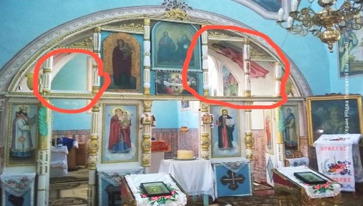В Винницкой области ограбили и осквернили храм УПЦ