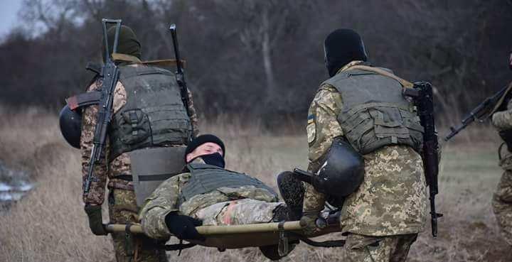 Четыре боевика ВСУ пострадали в ходе учебных стрельб — разведка НМ ЛНР