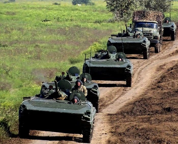 На Украине начались учения ВСУ по отражению широкомасштабной вооруженной агрессии