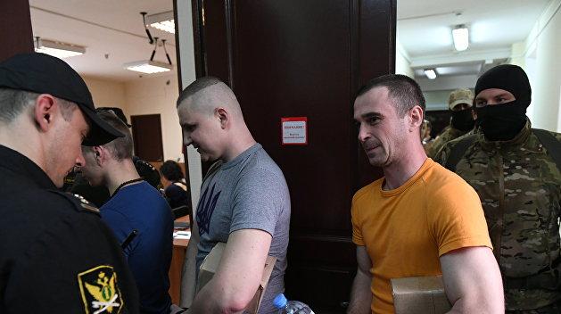 ФСБ приостановила следствие по делу украинских моряков