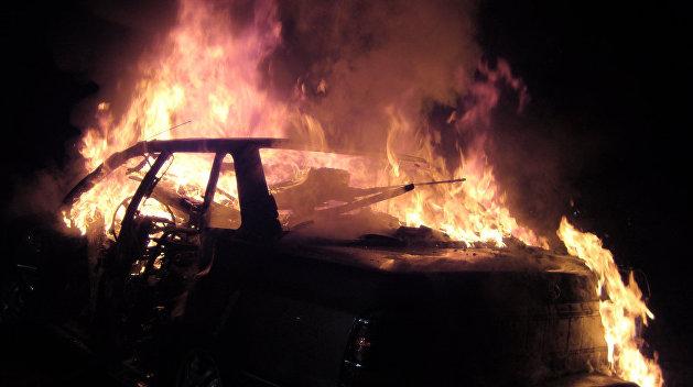 Неизвестные сожгли в Львове автомобиль журналистки «Радио Свобода»