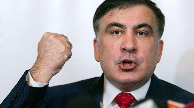 Партия Зеленского может выдвинуть Саакашвили кандидатом в мэры Одессы - СМИ