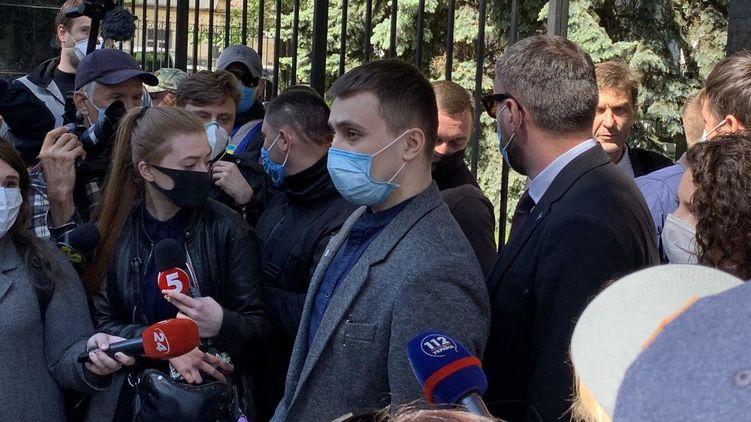 Националиста Стерненко, зарезавшего человека в Одессе, признали потерпевшим