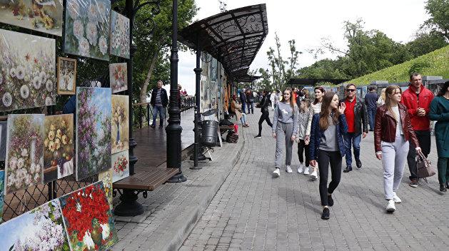 Население Украины сократилось больше чем на сотню тысяч человек