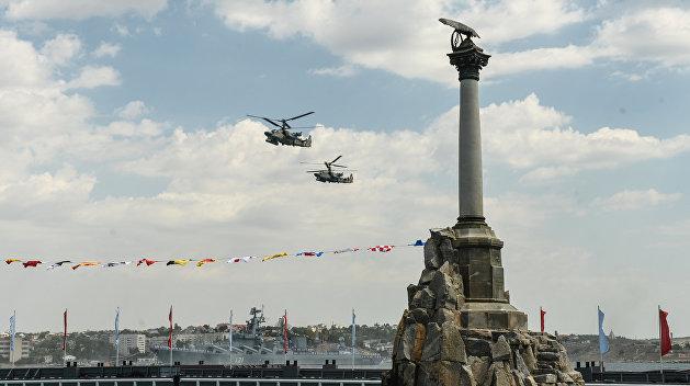 Киев обратился к Генсеку ООН из-за морского парада в Севастополе