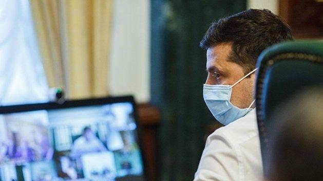 Зеленский опасается, что COVID-19 остановит медицину на Украине