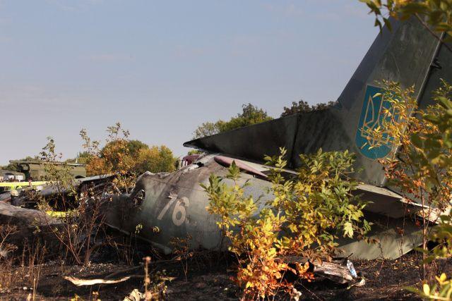 На Украине начали расшифровку бортовых самописцев разбившегося Ан-26