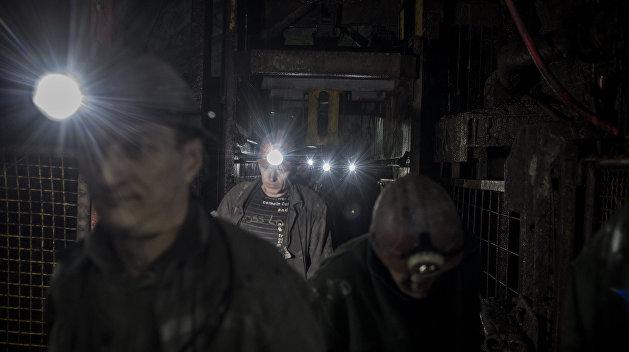 В Кривом Роге в поддержку бастующих шахтеров разбили палаточный лагерь