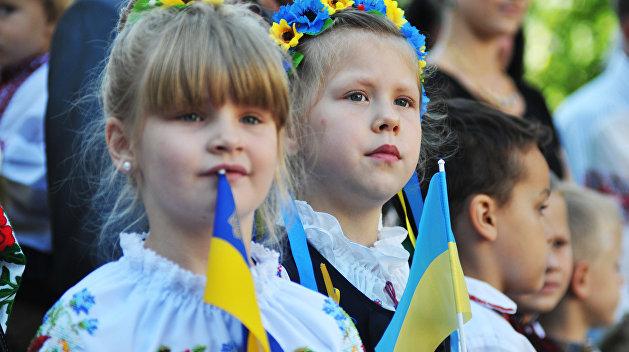 С 1 сентября русскоязычные школы на Украине станут украиноязычными