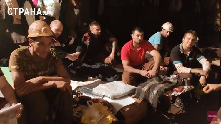 Шахтеры Кривого Рога бастуют уже 20-й день. Под землей остаются 149 человек