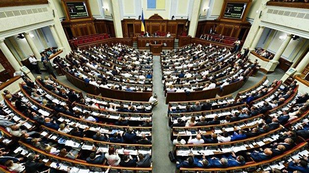 Верховная Рада с трудом приняла постановление о непризнании выборов в Белоруссии