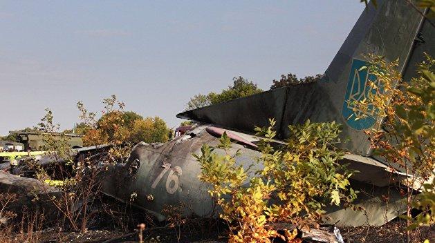 Официально: названы причины крушения Ан-26 в Харькове