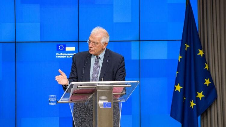 Главный дипломат Европы объяснил и ещё раз повторил фразу, что ЕС не банкомат для Украины