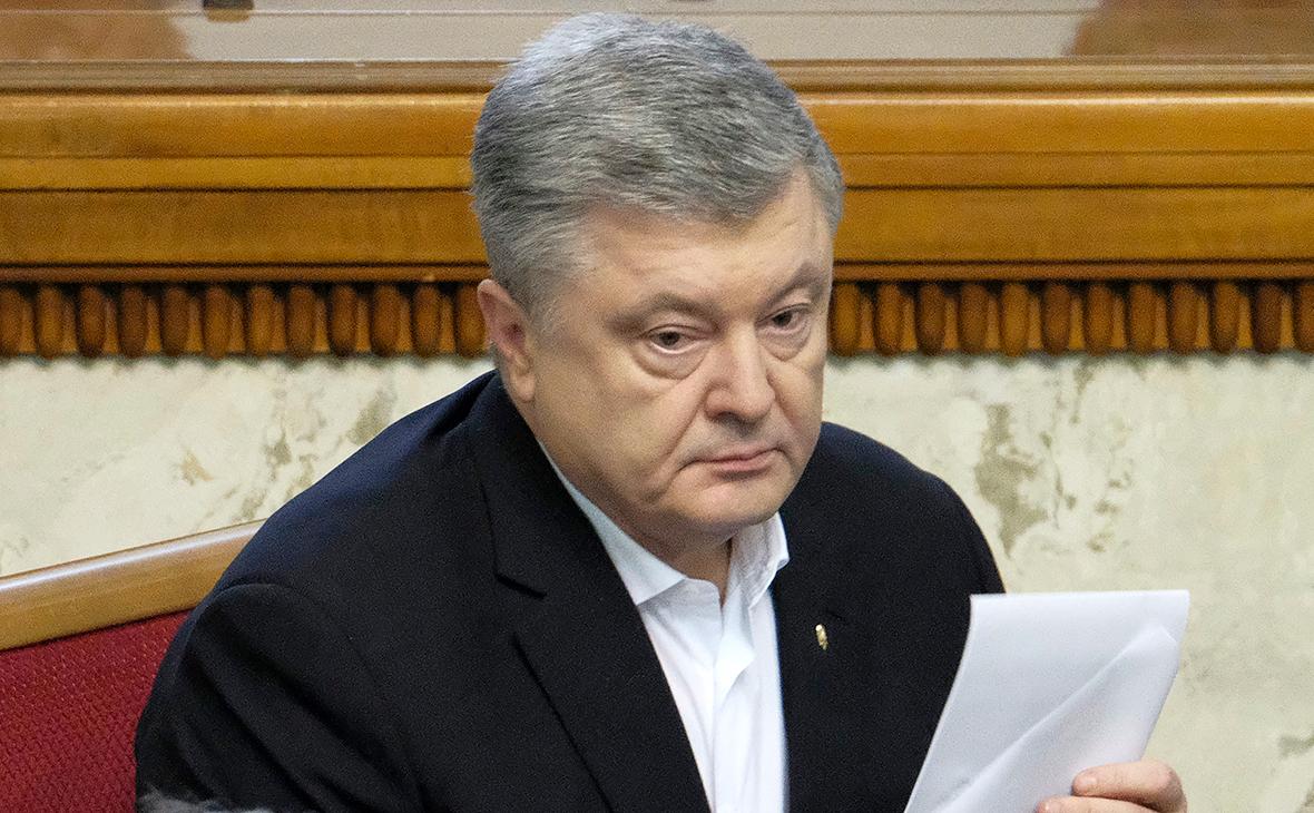 На Украине возбудили дело против Порошенко из-за регистрации офшорной компании