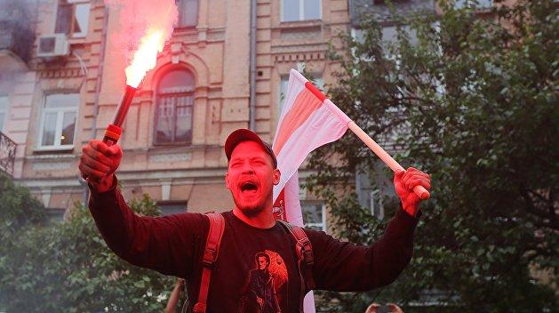 Протест против Белоруссии
