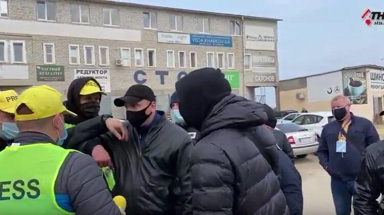 Нападения на журналистов на Украине
