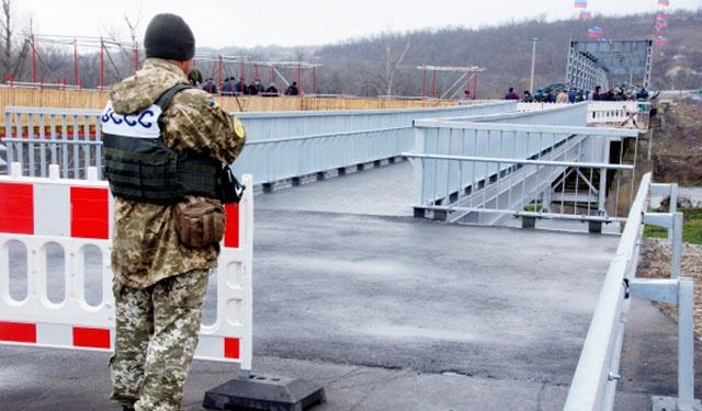 КПП в Донбассе
