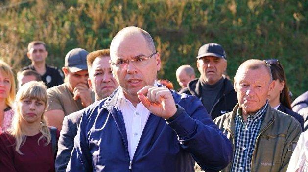 Глава МОЗ Украины Максим Степанов