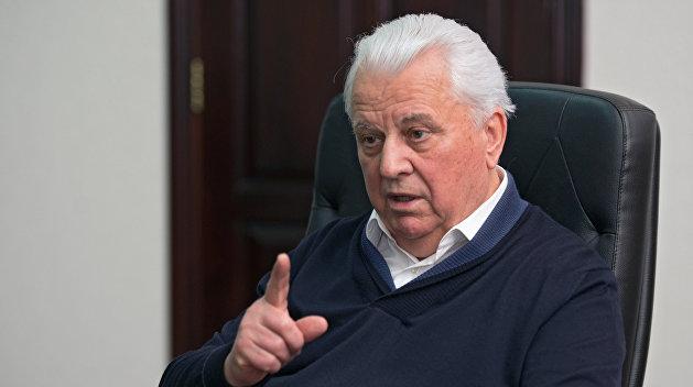 Глава украинской делегации в ТКГ Леонид Кравчук