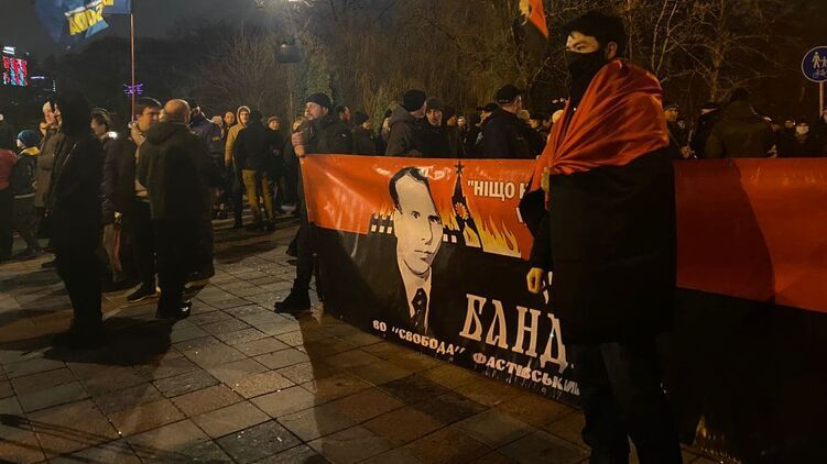 Марш Бандеры в Киеве