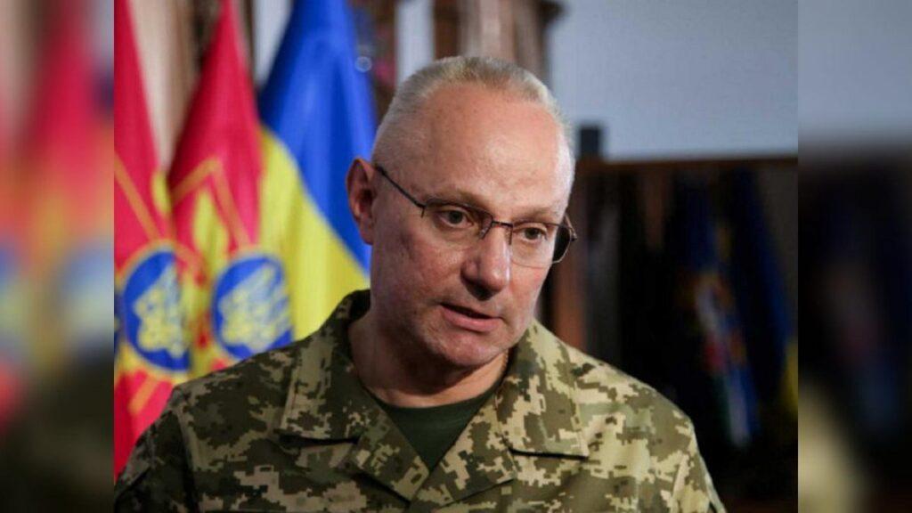 Глпавнокомандующий ВСУ Руслан Хомчак