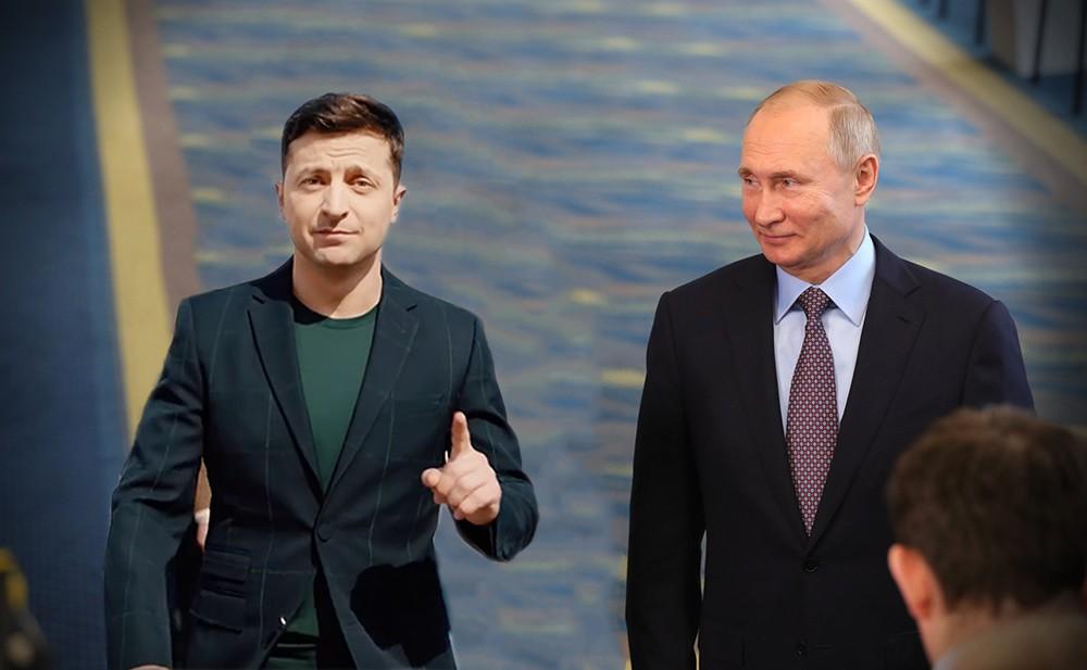 Встреча Владимира Путина и Владимира Зеленского