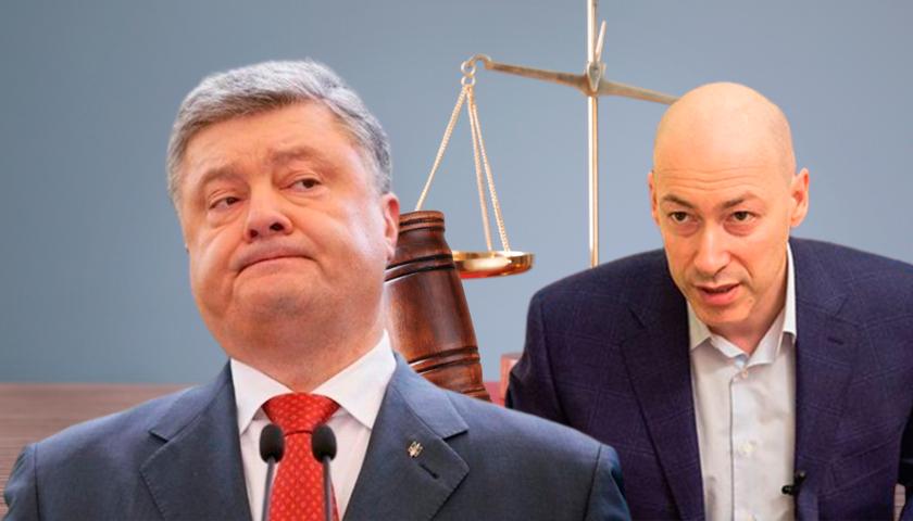 Дмитрий Гордон и Пётр Порошенко