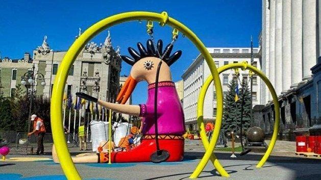 Детская площадка у Офиса Президента